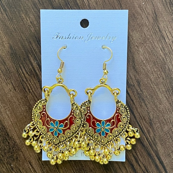 Fashion jewelry drop earring